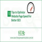 Page Speed For Better SEO